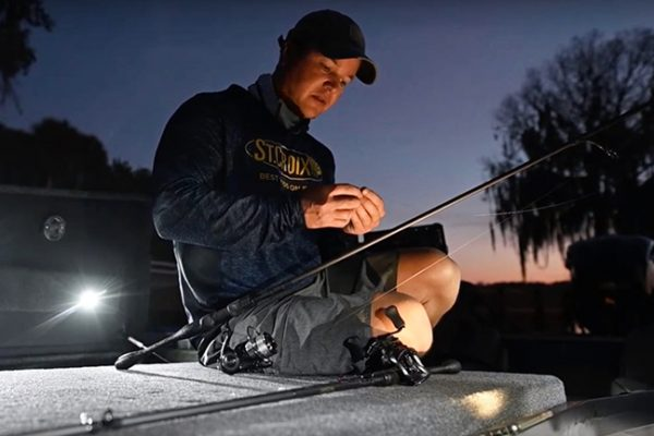 Pro Angler with St. Croix Rod