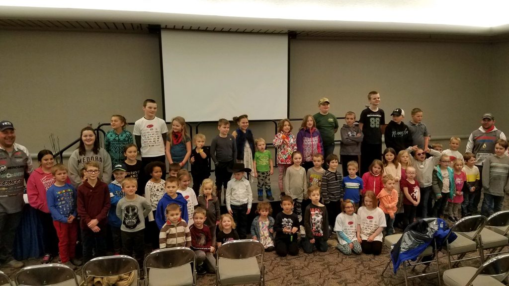 Youth Fishing Clinic Participants