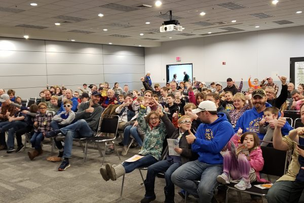 Learn 2 Fish Wisconsin Crowd