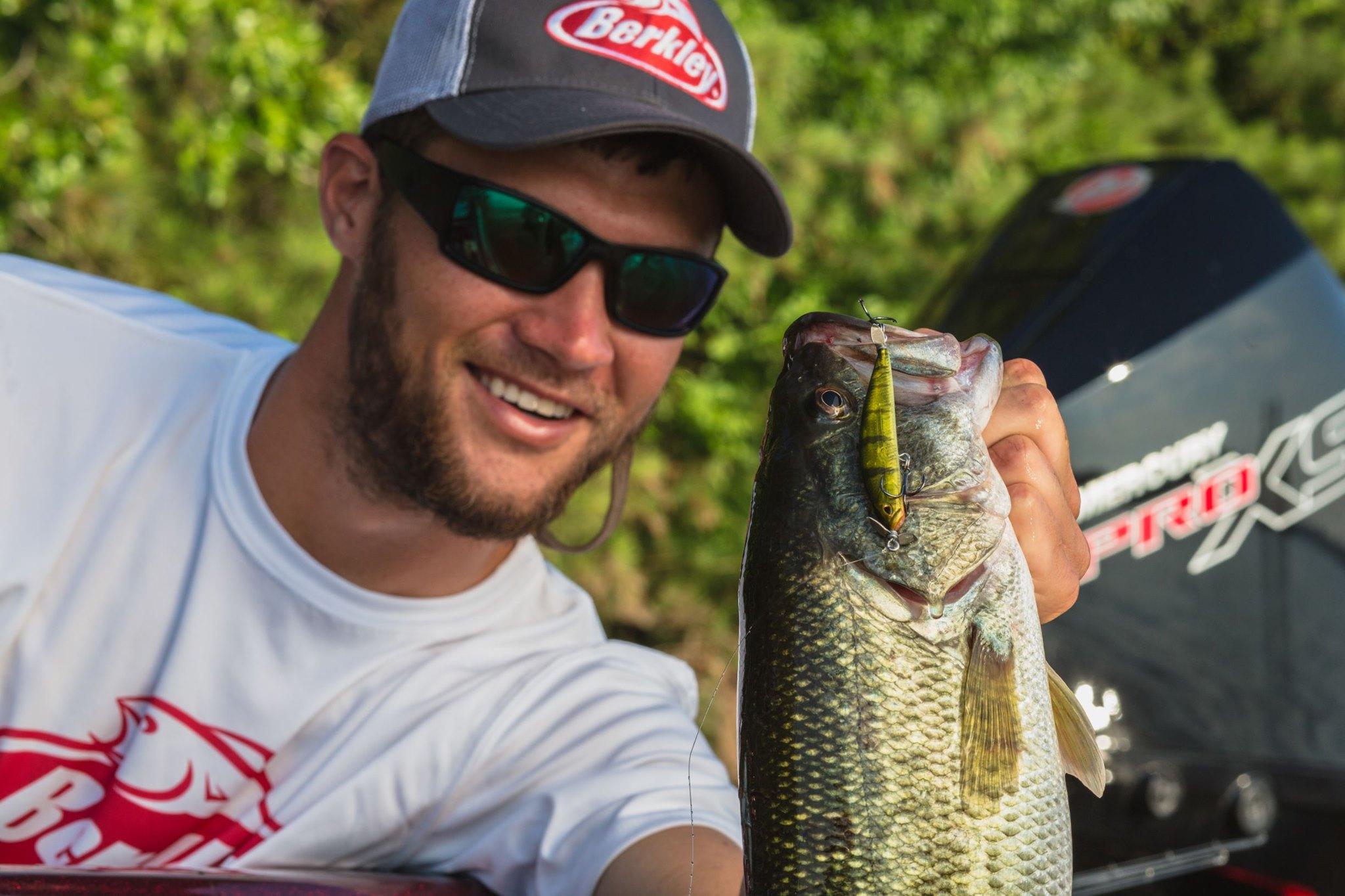 Pro Angler Josh Bertrand Lands Bass