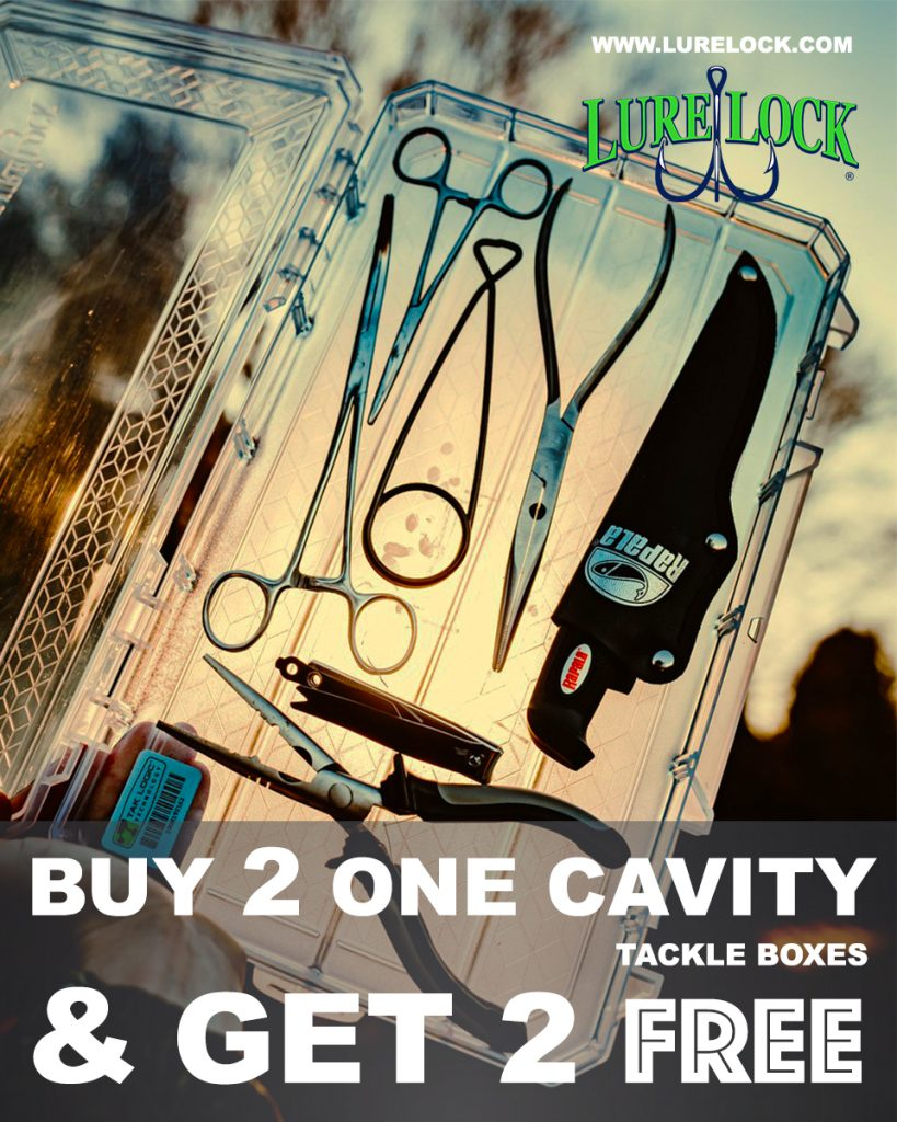 Lure Lock Cavity Box