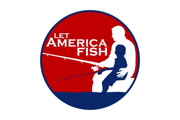 Let America Fish Logo