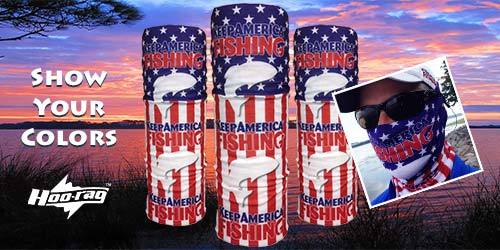 Keep America Fishing Hoo-Rag