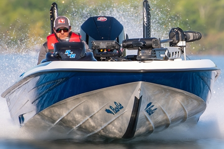 Angler in Boat