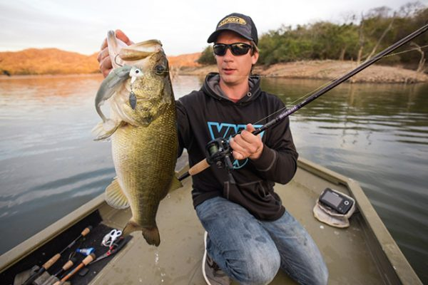 St. Croix Angler with Largemouth Bass