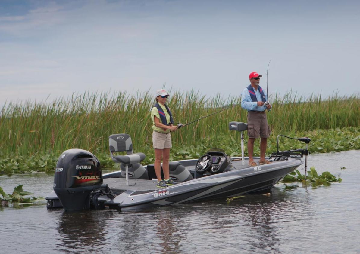 Anglers in Bass Boat