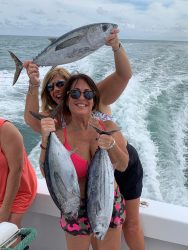 Women Show Off Catch