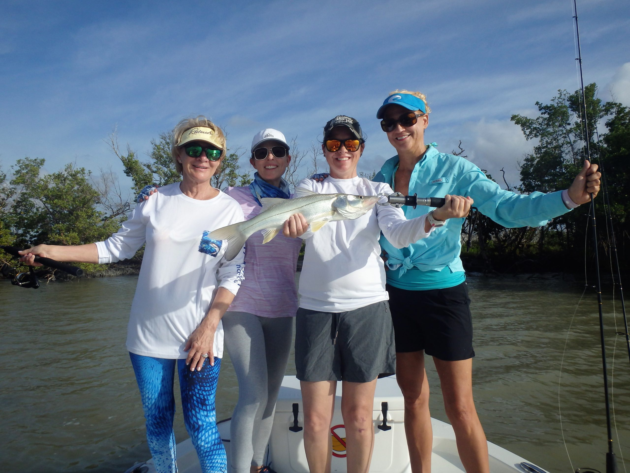 Women with Snook