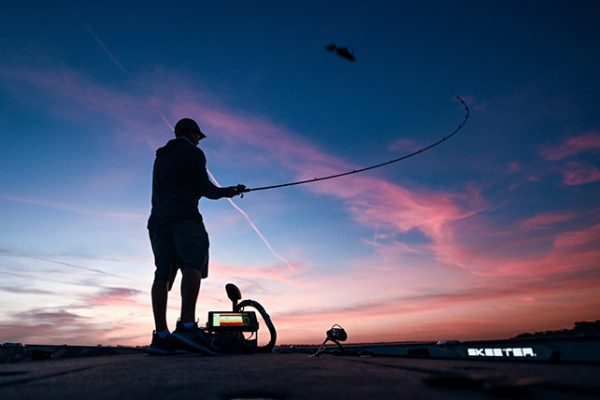 St. Croix Angler Casts Lure