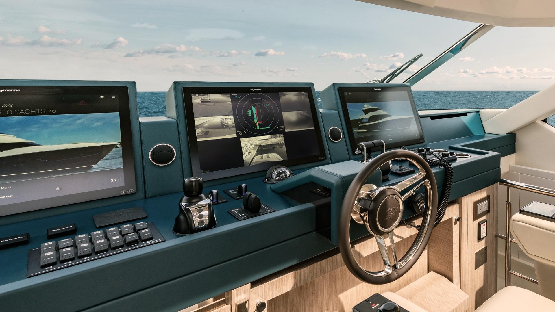 Monte Carlo Yachts Raymarine