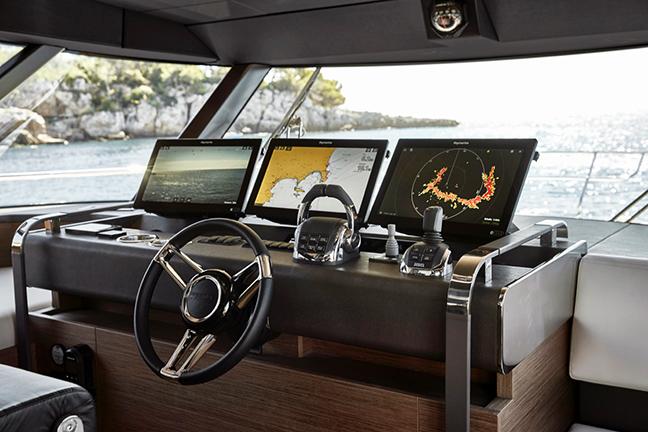 Raymarine Electronics Boat Console