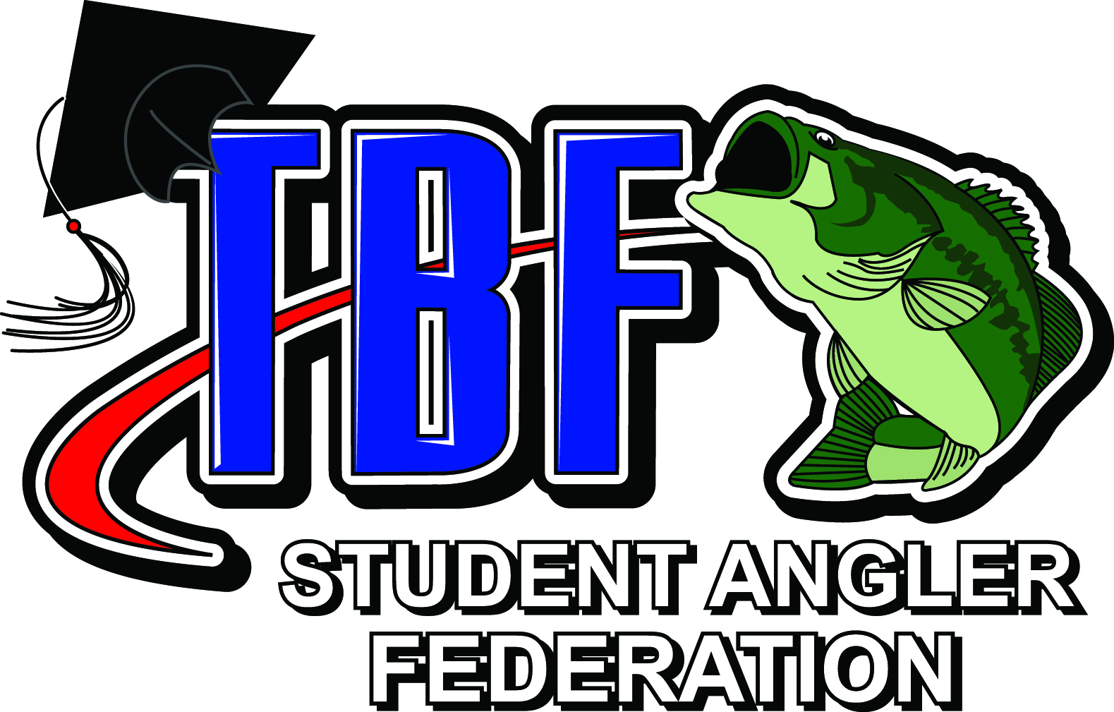 student angler federation graphic