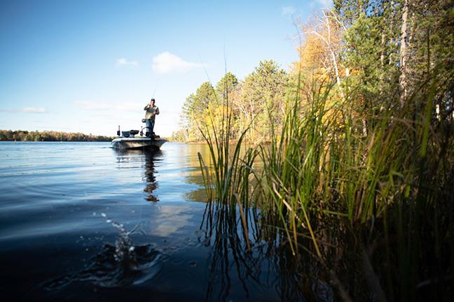 Fishing Lure Splashing Into Water