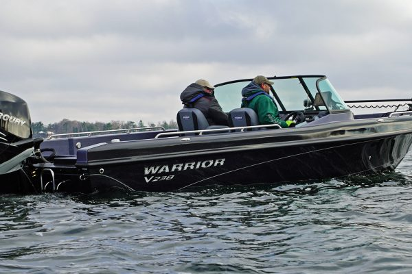 New Warrior Boat on Water