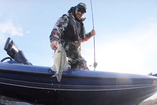 Angler Lands Spotted Bass