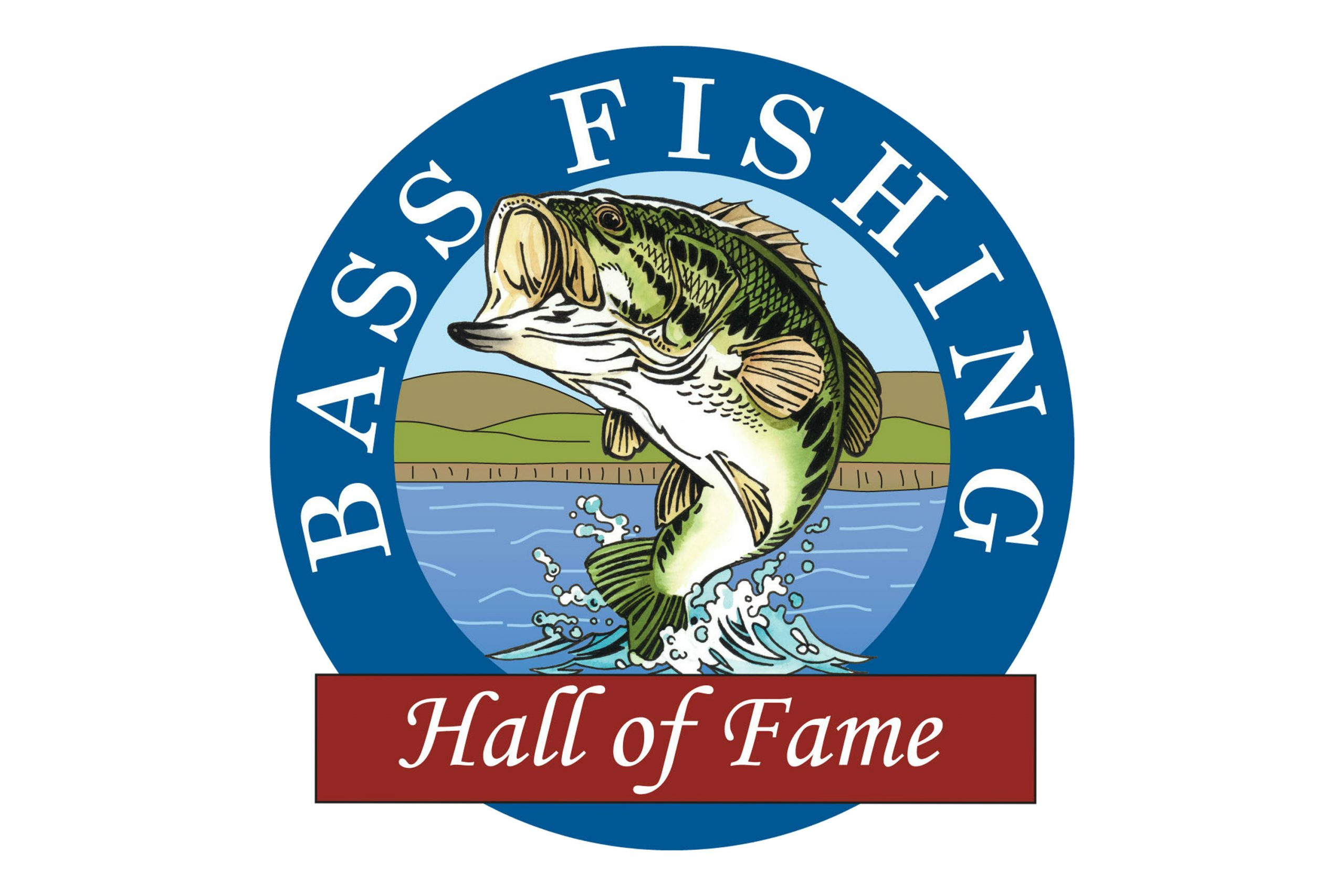 Bass Fishing HOF Logo