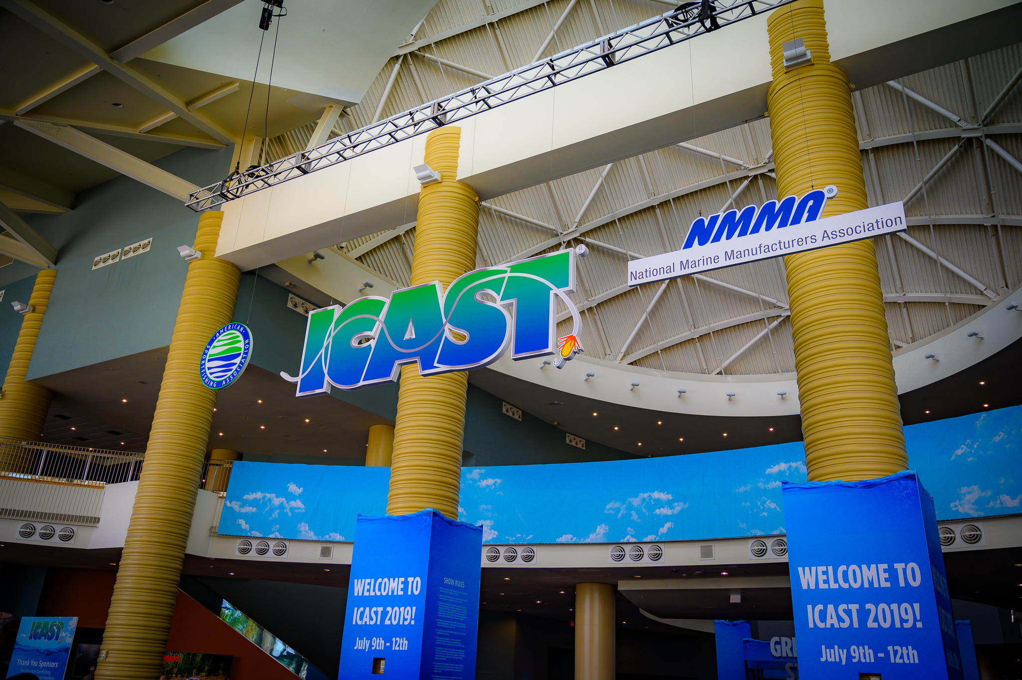 ICAST Sign