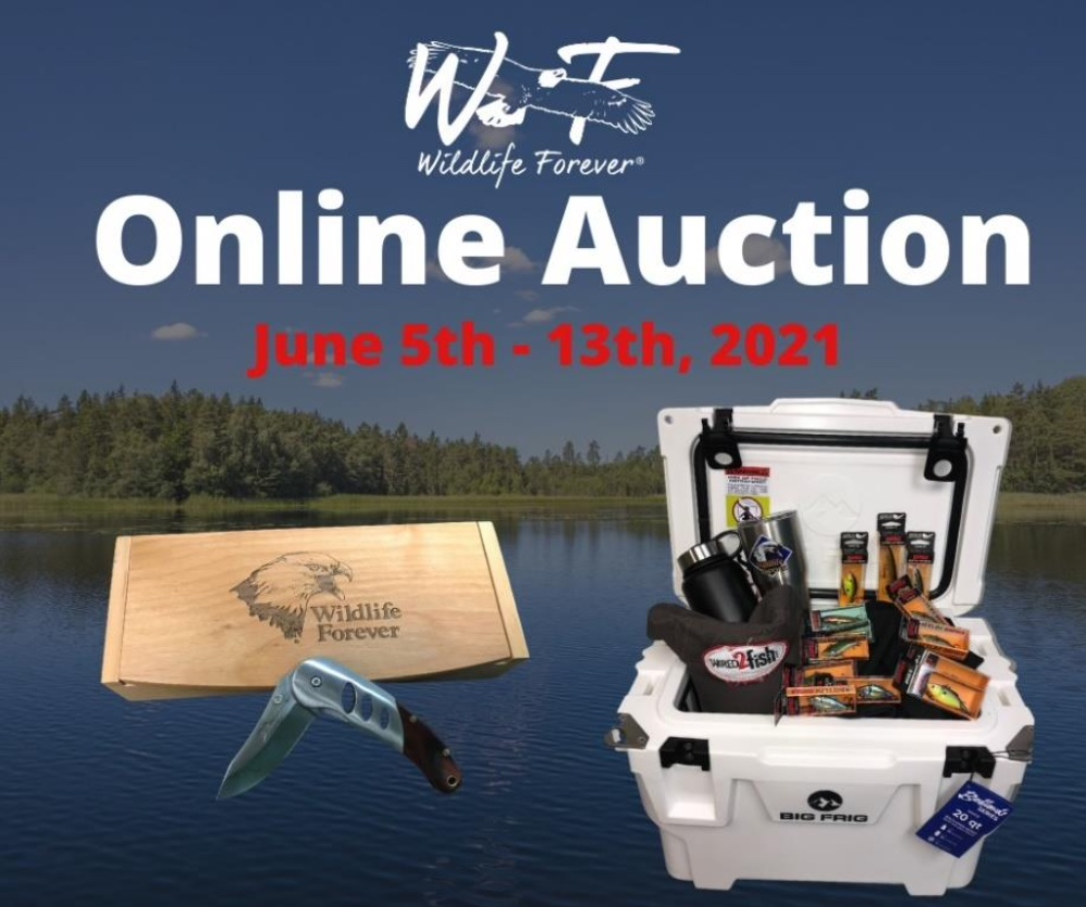 Wildlife Forever Charity Auction