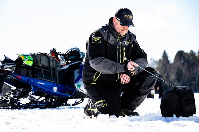 Angler Ice Fishing