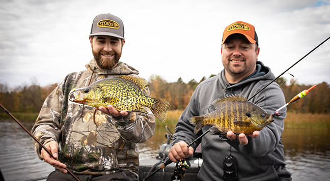 St. Croix Anglers Holding Panfish