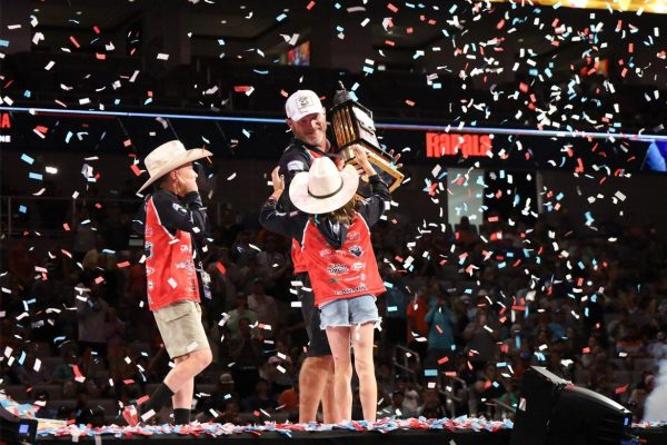 Angler Hank Cherry celebrates Classic win with family