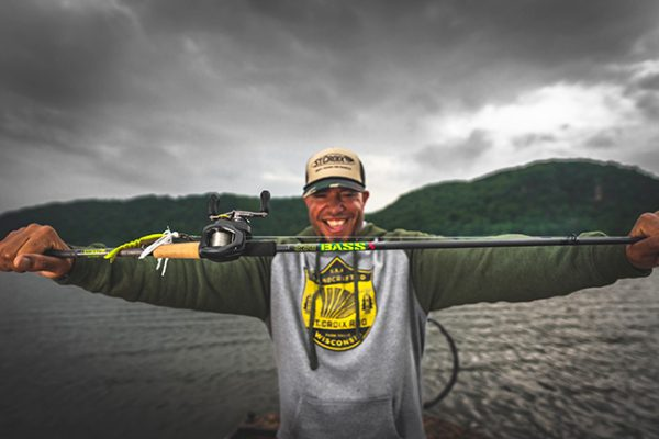 Fishing Guide Holds Rod