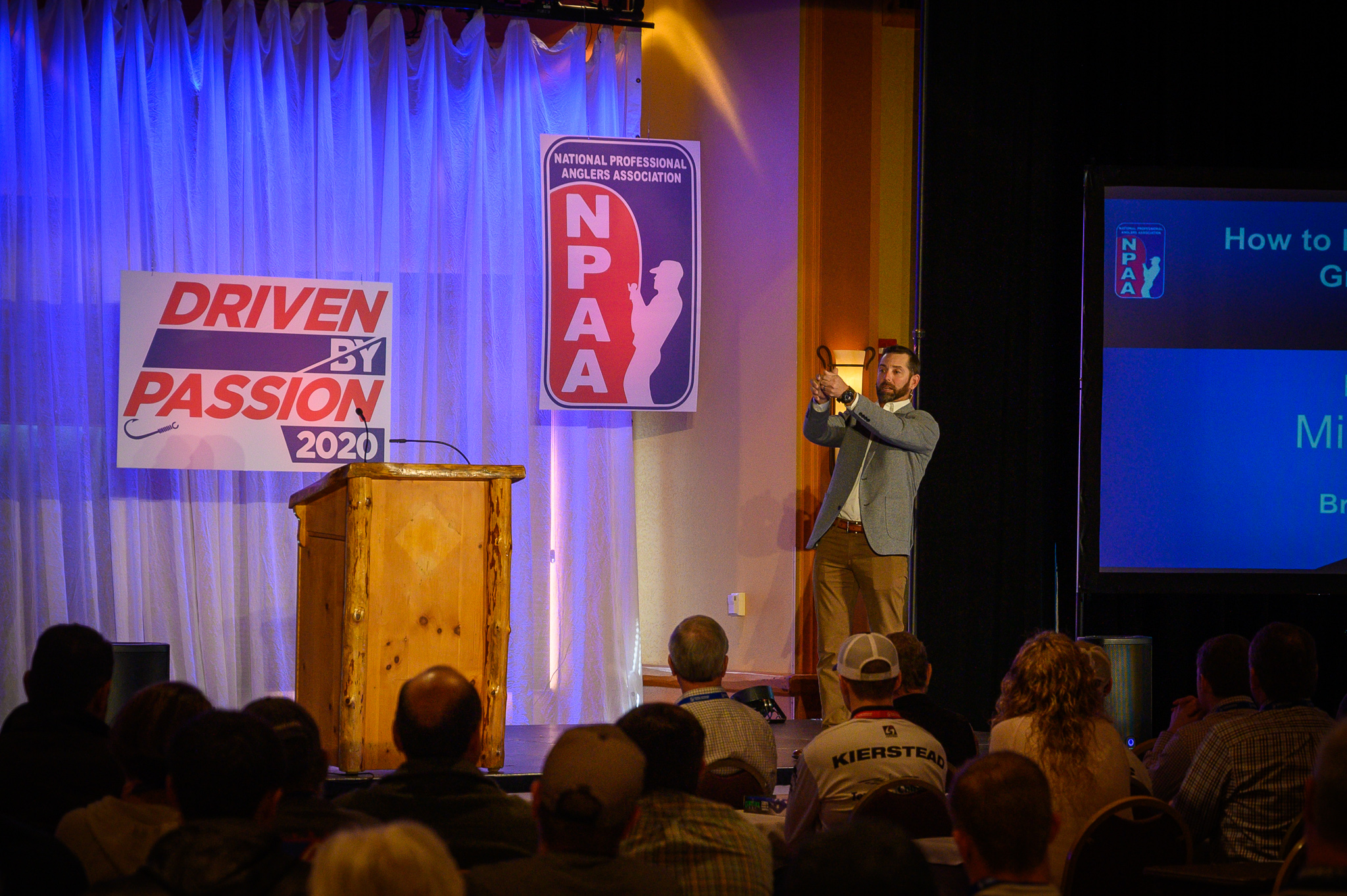 Mike Iaconelli Speaks at NPAA Conference