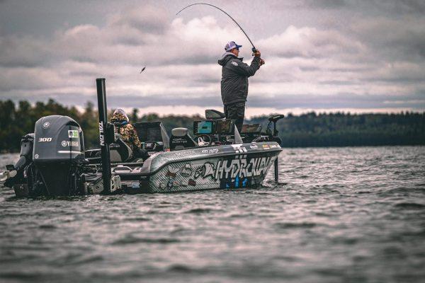 Angler Casting