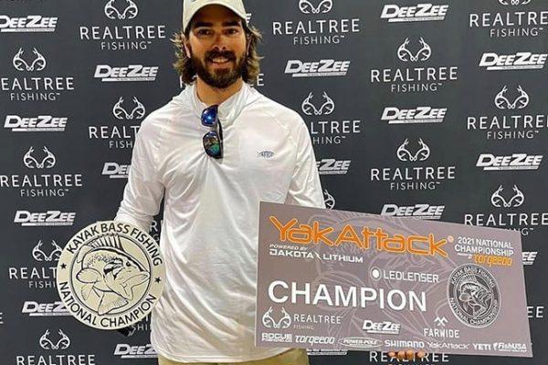 Kayak Angler Wins Championship